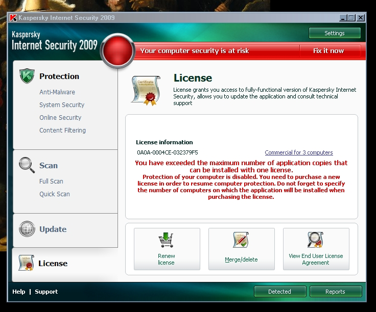 Kaspersky Anti-Virus 6.0 R2 SOS.